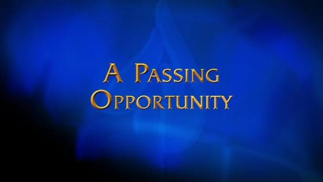 Charles Stanley - A Passing Opportunity