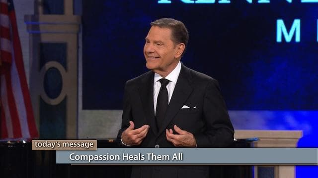 Kenneth Copeland - Compassion Heals Them All