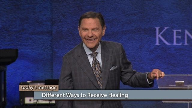 Kenneth Copeland - Different Ways to Receive Healing
