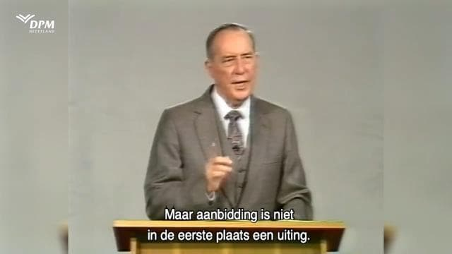 Derek Prince - 4 Body Positions to Worship God