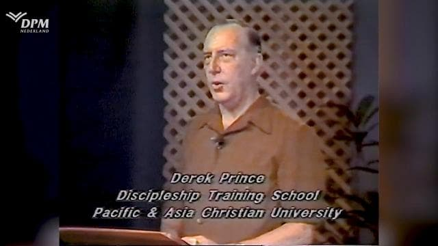 Derek Prince - Confusion About Receiving the Holy Spirit