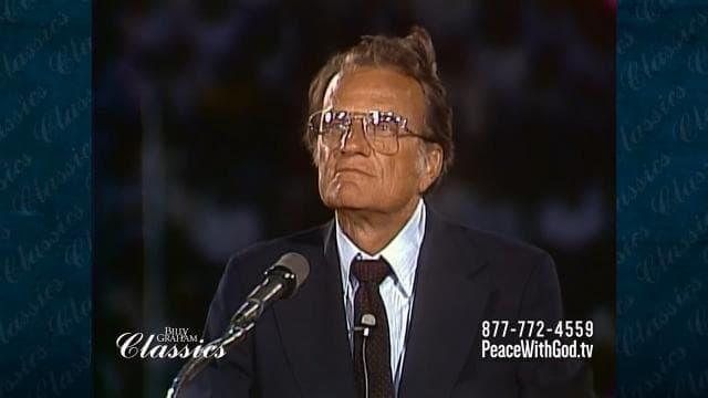 Billy Graham - Can You Run Away from God?
