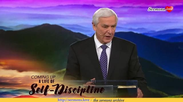 David Jeremiah - A Life of Self-Discipline