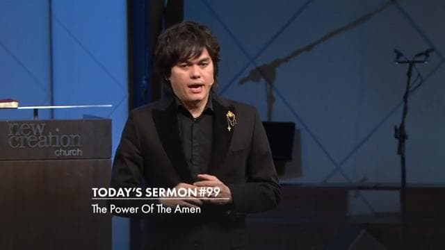 #099 Joseph Prince - The Power Of The Amen