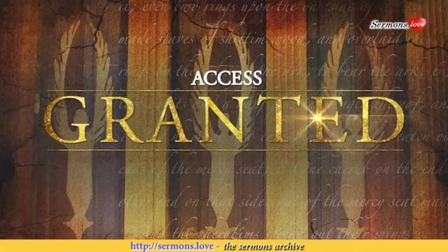TD Jakes - Access Granted