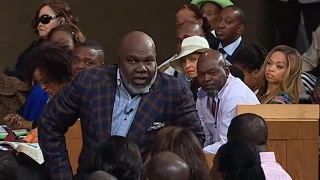 TD Jakes - Be Seated