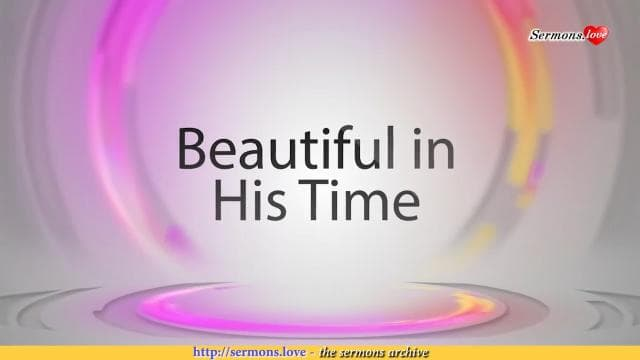 David Jeremiah - Beautiful in His Time