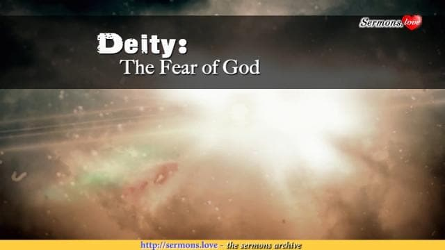 David Jeremiah - Deity: The Fear Of God