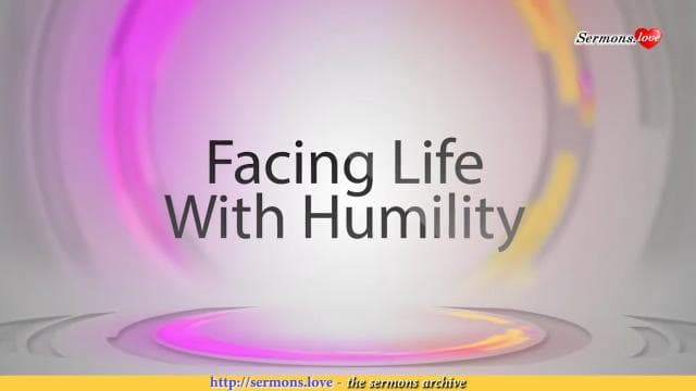 David Jeremiah - Facing Life With Humility
