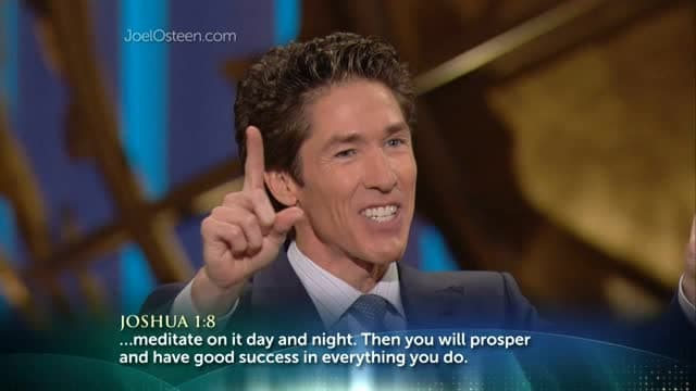 Joel Osteen - Reprogram Your Mind