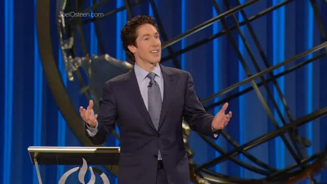 Joel Osteen - Stored Up Blessings