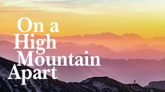 Beth Moore - On a High Mountain Apart - Part 1