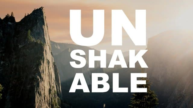 Beth Moore - Unshakable - Part 1