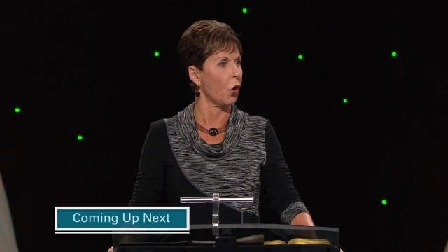 Joyce Meyer - What Do You Think?