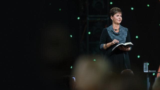 Joyce Meyer - It's Time to Get Off the Fence