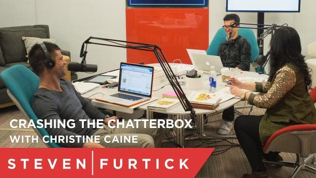 Steven Furtick - Crashing the Chatterbox with Christine Caine