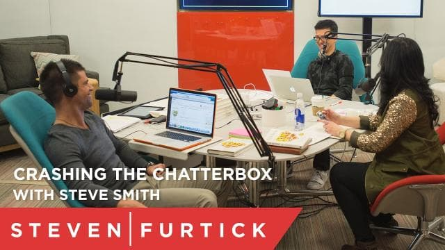 Steven Furtick - Crashing the Chatterbox with Steve Smith