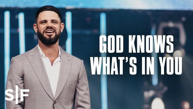 Steven Furtick - God Knows What You Need