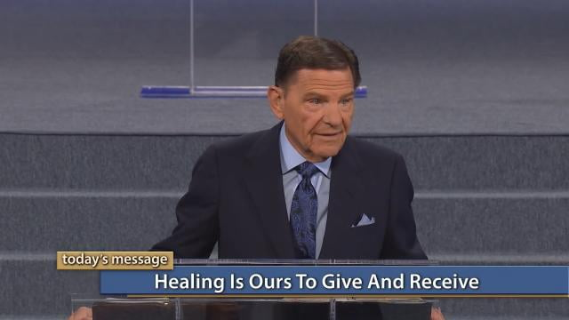 Kenneth Copeland - Healing Is Ours to Give and Receive
