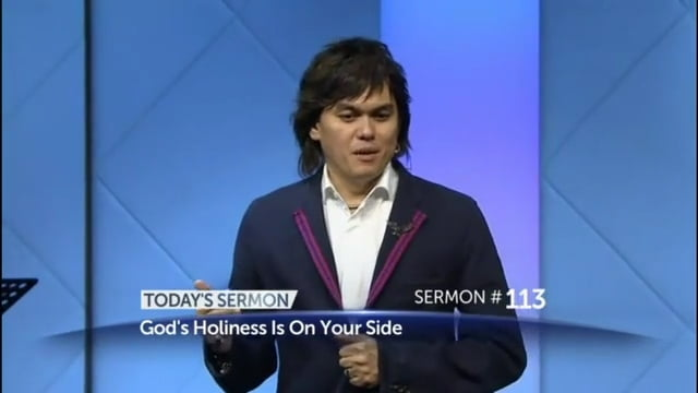 #113 Joseph Prince - God's Holiness Is On Your Side