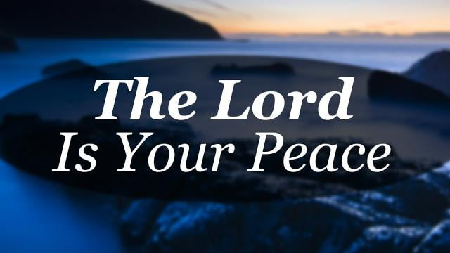 Sid Roth - The Lord Is Your Peace