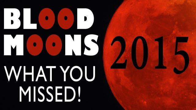 Sid Roth - Blood Moons 2015: What You Missed
