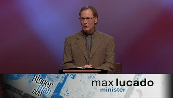 Max Lucado - Grace A Lot or Grace Alone?