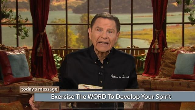 Kenneth Copeland - Exercise The Word To Develop Your Spirit