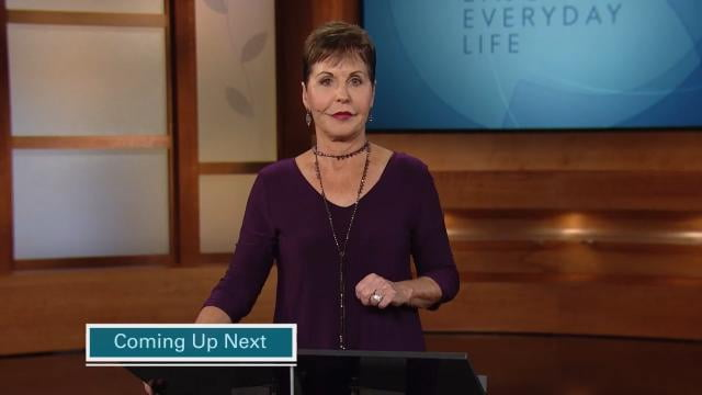 Joyce Meyer - A Relaxed and Peaceful Attitude