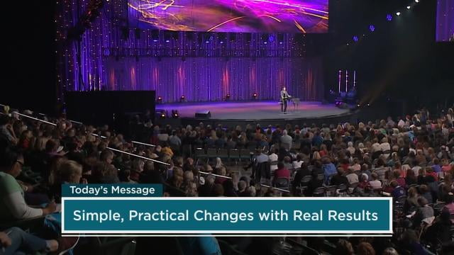 Joyce Meyer - Simple Changes, Real Results - Part 1