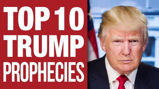 Sid Roth - Top 10 Urgent Prophecies About President Trump