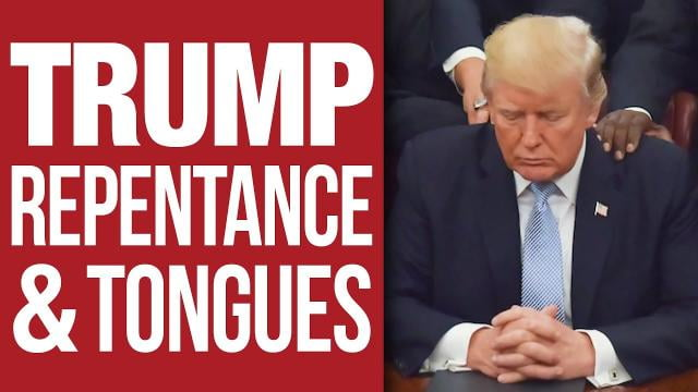 Sid Roth - Trump, Repentance and Tongues Pray with Us for America