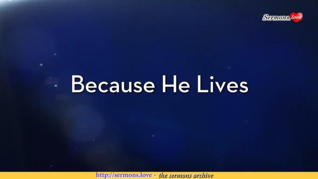 Charles Stanley - Because He Lives