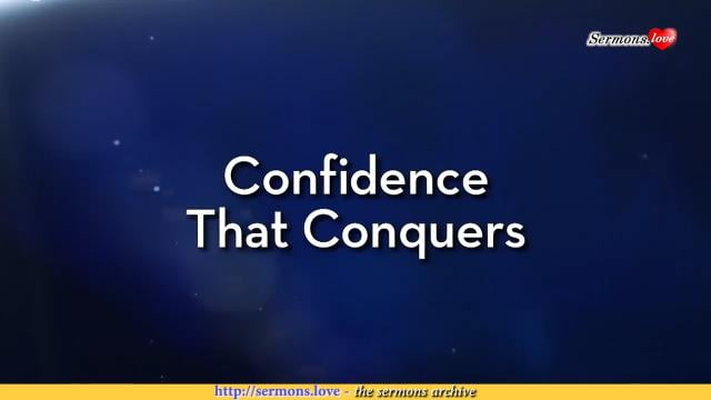Charles Stanley - Confidence That Conquers