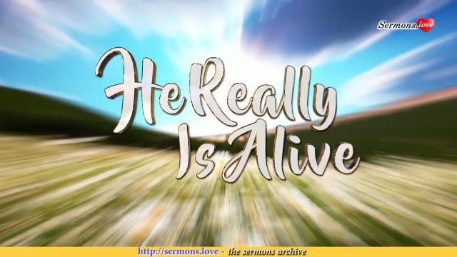 David Jeremiah - He Really Is Alive