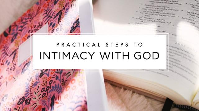 Beth Moore - Practical Steps to Intimacy With God - Part 1